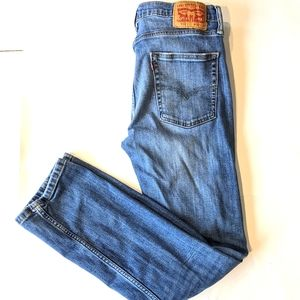 Levi's 513 Straight Fit Mom Light Wash Jeans 32x32